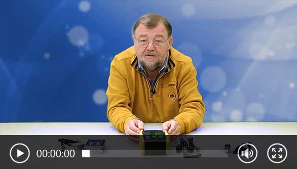 Vídeo del vibrómetro