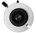 Condensador do microscópio