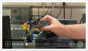 Vídeo da mini pinça amperimétrica PCE-DC 3