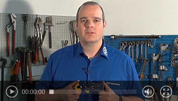Exemple d'utilisation de l'ampèremètre