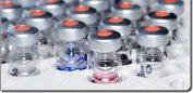 Des appareils de laboratoire: la zone chromatographique se trouve ici