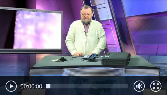 Vidéo de la caméra endoscopique avec Wolfgang Rudolph