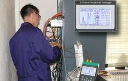 Utilisation du contrôleur de température