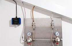 Detecteur de CO2 dans une installation de gaz.