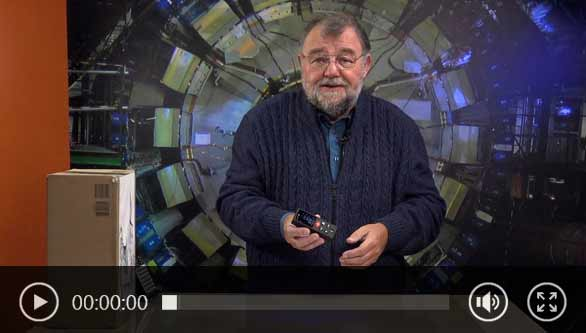 Vidéo du télémètre laser avec Wolfgang Rudolph
