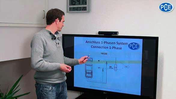 Vidéo sur le wattmètre digital