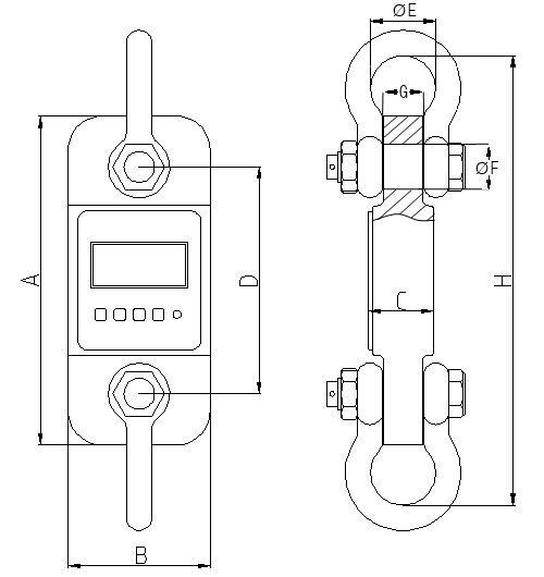 Техническая схема для PCE-DDM