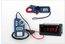 Übersicht der Amperemeter