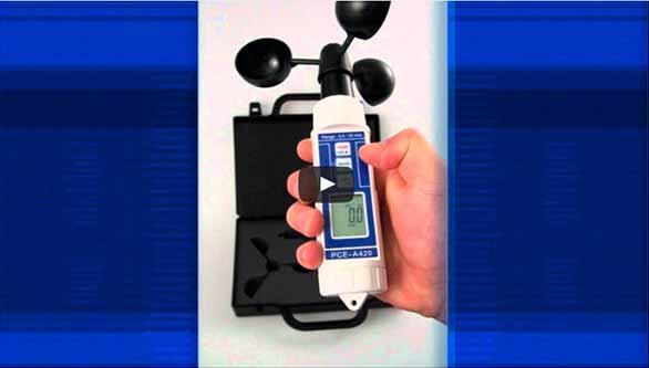 Video vom Anemometer PCE-A 420