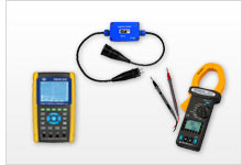 Übersicht Energiemessgerät / Energiemesser
