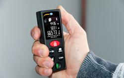 Entfernungsmessgerät -  Entfernungsmesser Anwendung.