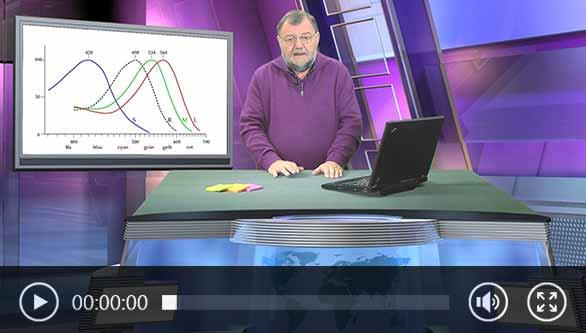Wolfgang Rudolph Video über das Thema Farbmessgerät