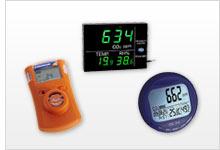 Übersicht zum Gasmessgerät / Gasmesser