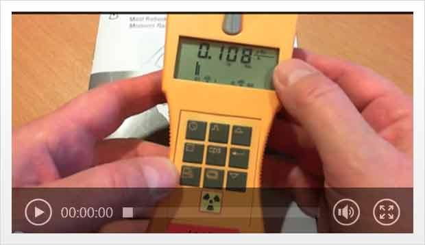 Video Geigerzähler