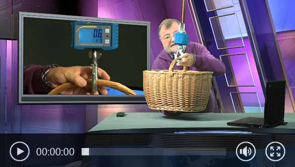 Hängewaage PCE-CS 1000N Video.