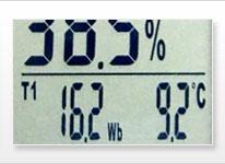 Hitzestressmessgerät