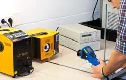 Kalibrierung von einen Infrarotthermometer bei PCE.