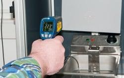 Infrarotthermometer - Handgerät