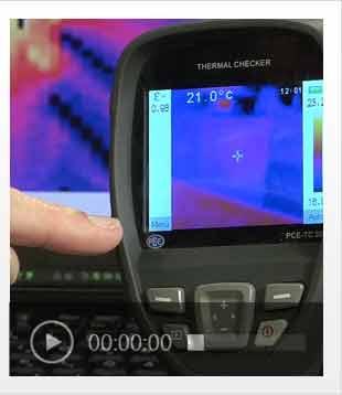 Video einer Inspektionskamera im Einsatz