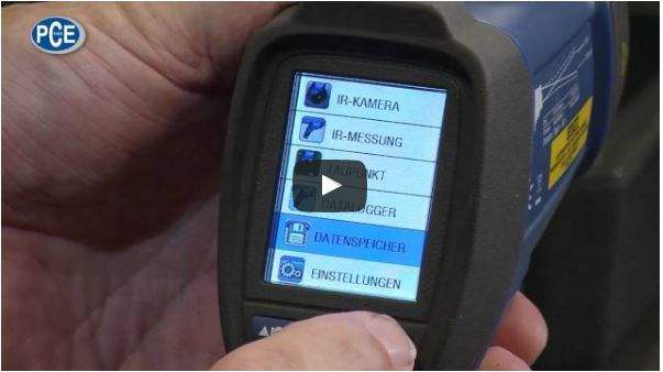 Infrarotthermometer Video