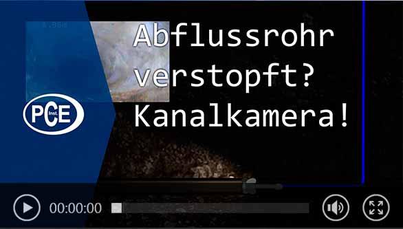 Kanalkamera Video