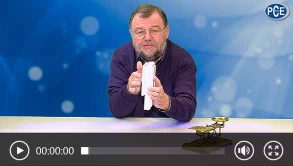 Video über ein Kraftmessgerät mit Wolfgang Rudolph