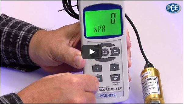 Video Manometer