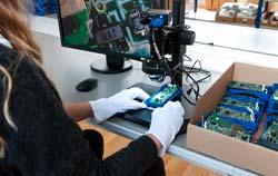 Mikroskop PCE-IDM 3D Anwendung Qualitätskontrolle