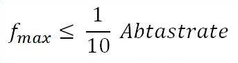 Oszilloskop - Formel der max Frequenz in Abhänigkeit der Abtastrate