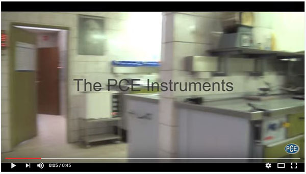 Video Labortechnik der PCE Instruments