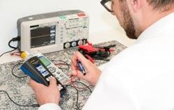 Prozesskalibrator PCE-TTC 30 für unterschiedliche Thermoelemente, sowie die Simulation von mV.