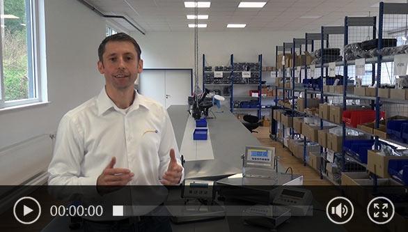 Plattformwaage Wissensvideo mit Lukas Ludwig