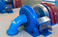 Kraftwerks-Tubinen- Kontrolle mittels FFT-Analyse.