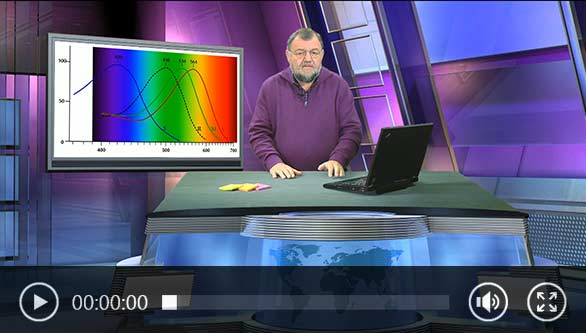 Video: Wolfgang Rudolph erklärt, wie ein Spektralphotometer funktioniert.