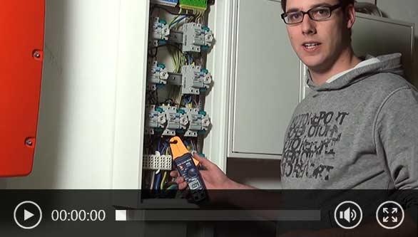 Video Zangenmessgerät