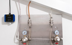 Detector de gás na aplicaçõ na indústria de bebidas.