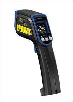 Técnicas de medição de temperatura / Termômetro infravermelho
