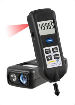 Optische Messtechnik zur Drehzahlmessung