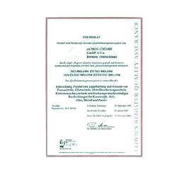 Certificato di calibratura ISO per il PCE UT 603