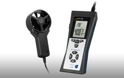 Anemômetro de roda de hélice