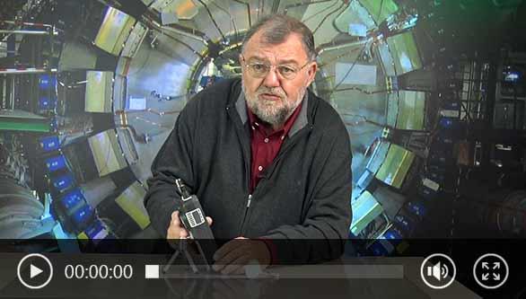 Vídeo no contador de partículas