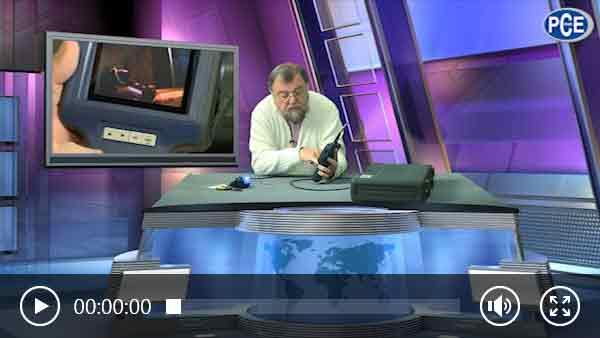 Endoscópio explicado por Wolfgang Rudolph