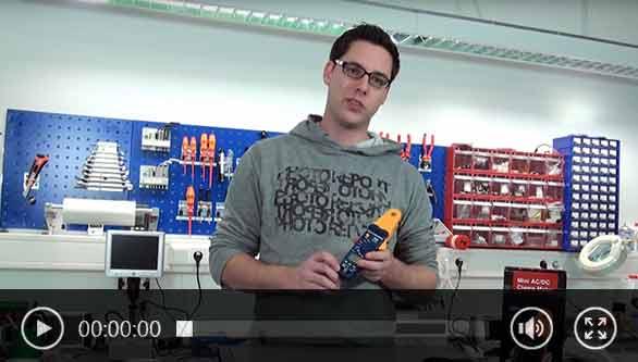 Vídeo 1 da pinça amperimétrica