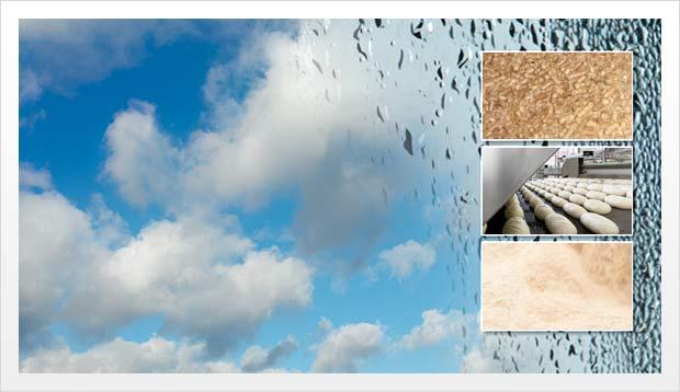 Sensor de umidade por microondas