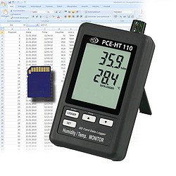 Air Humidity Meter w/ Calibration Certificate PCE-HT110-ICA
