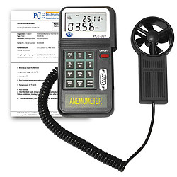 Airwheel Wind Measurer incl. ISO Cal Certificate PCE-007-ICA