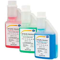 Calibration Solution pH4 and pH7 and pH10