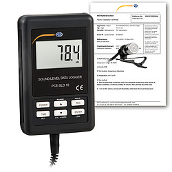 Condition Monitoring Device PCE-SLD 10-ICA Incl. ISO Calibration Certificate