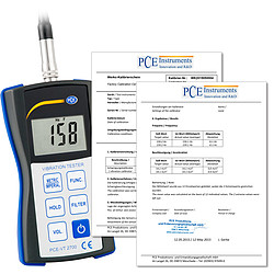 Condition Monitoring Vibration Meter PCE-VT 2700