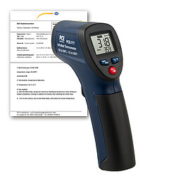 Digital Thermometer PCE-777N-ICA incl. ISO Calibration Certificate